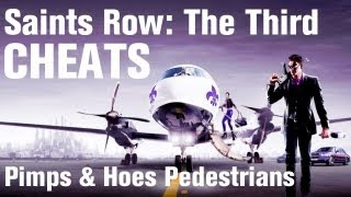 Saints Row 3 Cheats: Pimps and Hos