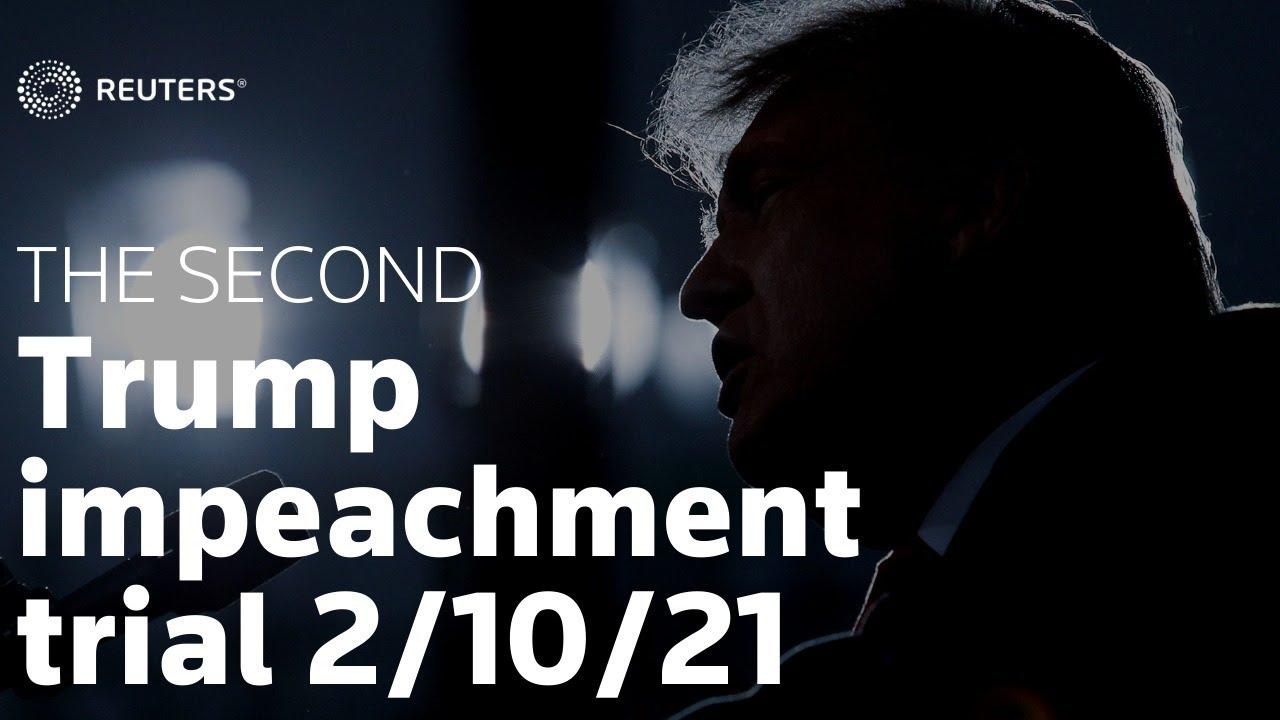 Download Trump impeachment trial - Day 2 in full