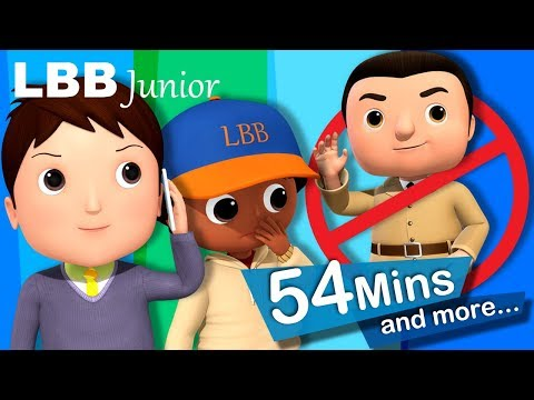 """No No No!"" ""Don't Talk To Strangers"" 