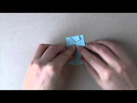 Origami Dress Tutorial - DIY Paper Cake Toppers