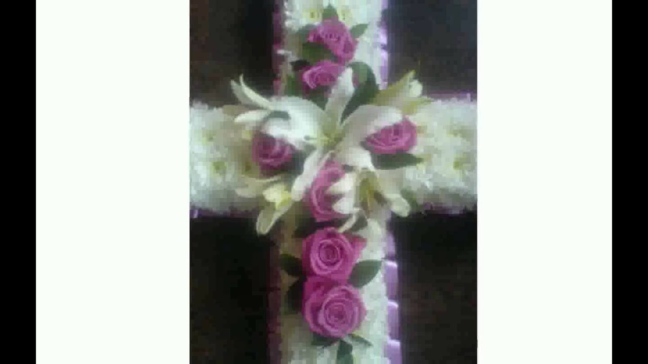 Funeral flower arrangements youtube izmirmasajfo