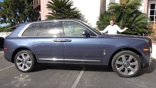 Rolls-Royce Cullinan за $400 000 это самый потрясающий люксовый внедорожник