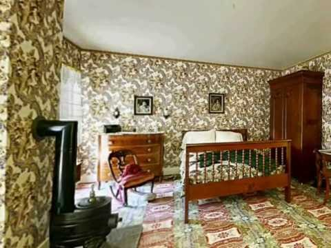 Virtual Tour Of The Interior Of The Abraham Lincoln Home In Springfield Illinois Youtube
