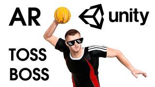 AR Toss Boss: Unity & Augmented Reality — Unity Asset ☄