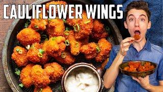 My Buffalo Cauliflower Wings Are Better Than Chicken Wings | Eitan Bernath