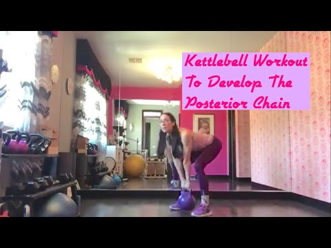 Kettlebell Workout For Posterior Chain