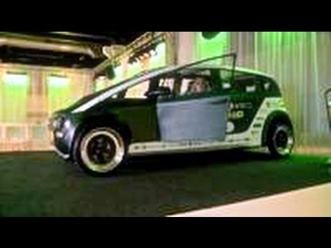 Would you drive a car made from plants?