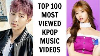 [TOP 100] MOST VIEWED KPOP MUSIC VIDEOS | November 2017