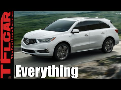 2017 Acura Mdx And Sport Hybrid Everything You Ever Wanted To Know