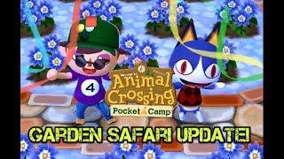 Animal Crossing Pocket Camp: Rover's Garden Safari Update!!