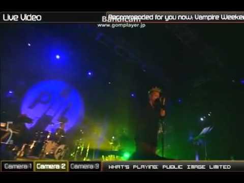 Public Image, Ltd.- Albatross (Live at Coachella 2010)