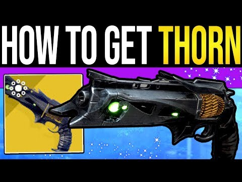 Destiny 2 | How to Get THORN Exotic Quest! - Where to Find It, Full Quest Steps Guide & PvP Tips!