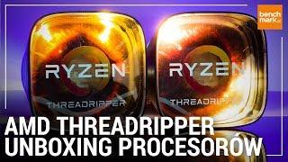 AMD Ryzen Threadripper 1950X oraz 1920X - unboxing