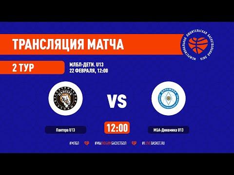 Партера U13 - МБА-Динамика U13. МЛБЛ-Дети U13. Тур 2. Сезон 2020/21