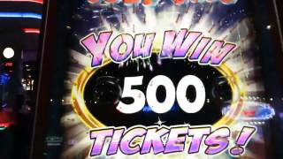 ARCADE FUN: HOW MANY TICKETS CAN WE WIN IN 1 HOUR ❓ | ARCADE NERD FUN