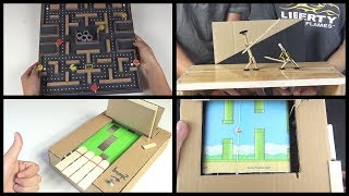 Top 5 Amazing Games from Cardboard You Can Do at Home