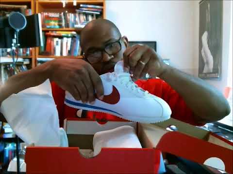 best loved 3bfd4 a3a48 Nike Classic Cortez Leather 'Forrest Gump' 2017 | Authentic Verification