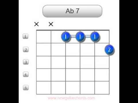 Ab7 Guitar Chords Youtube
