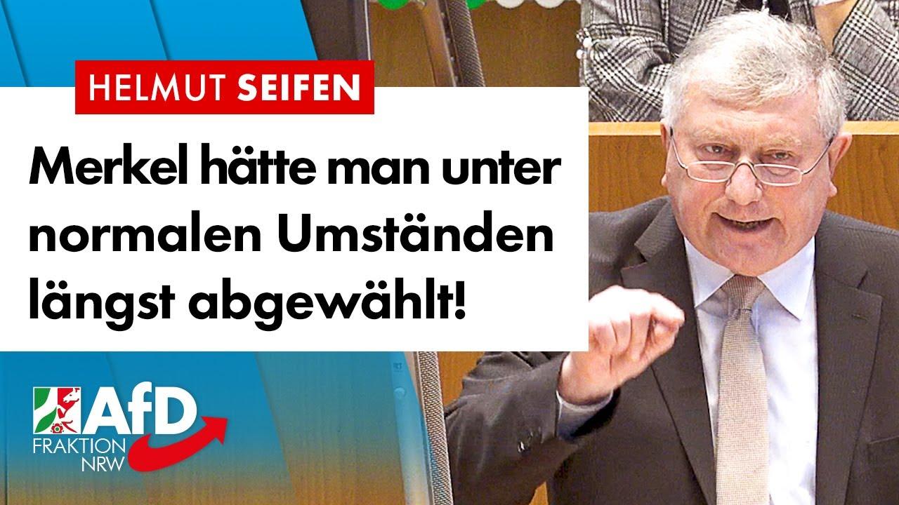 Merkel hätte man unter normalen Umständen längst abgewählt! – Helmut Seifen (AfD)
