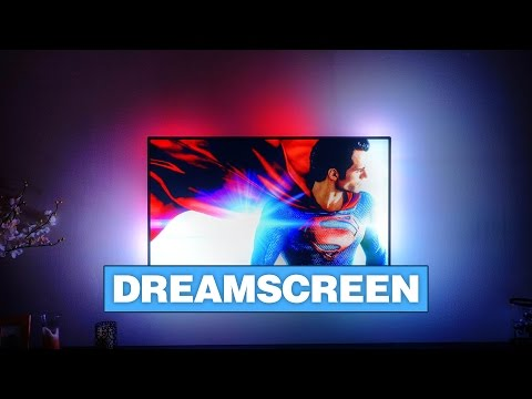 DreamScreen Puts LED Lights Behind Your TV