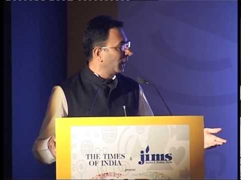 Mr  Jitin Prasada, Minister of State, HRD addresses HR Strategy Summit 2013