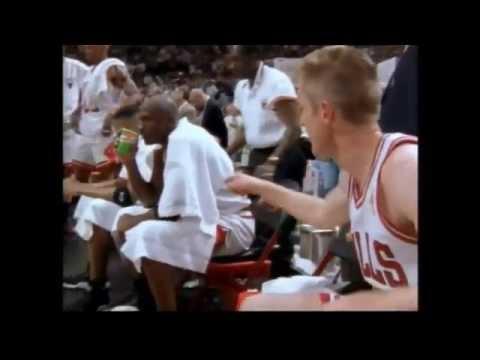 Greatest Moments in NBA History - Steve Kerr Winning Shot NBA Finals 1997
