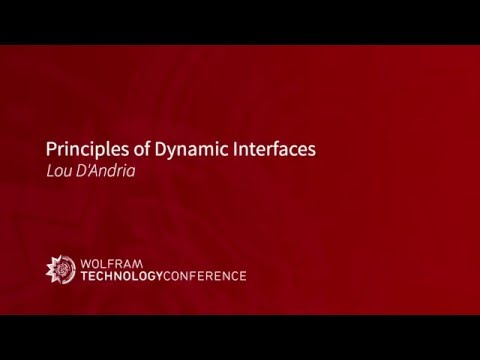 Principles of Dynamic Interfaces