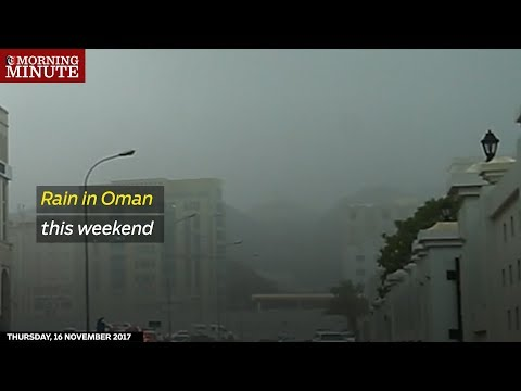 Rain in Oman this weekend