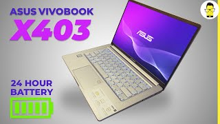 ASUS VivoBook X403 Review: the 24-hour battery laptop?