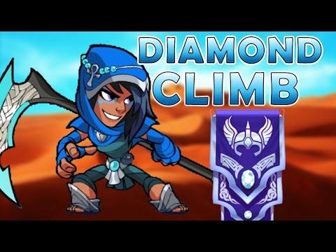 Mirage to Diamond - Scythe Brawlhalla Gameplay