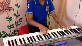 Pyar hua ikrar hua on keyboard by Radha !