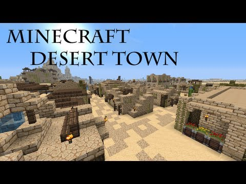 minecraft desert map