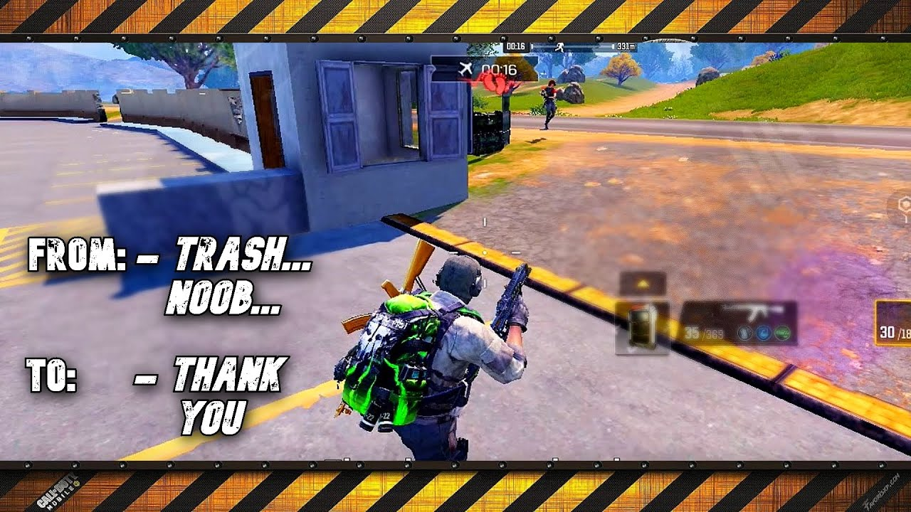 How to kill someone with kindness - Call of Duty Mobile - Battle Royale