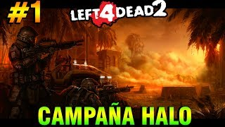 Left 4 Dead 2: CAMPAÑA DE HALO EN L4D2   Mods de Los FLOOD   Parte #1