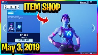 FORTNITE ITEM SHOP *NEW* DREAM AND INTERSTELLAR SKIN SETS! | ITEM SHOP (May 3, 2019)