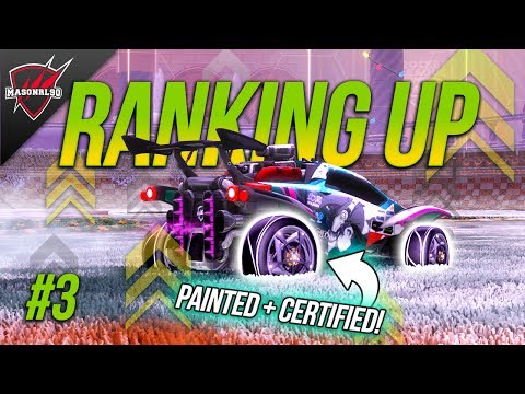 RANK UP in Rocket League #3 | 2v2 Rotations, Passing, Positioning