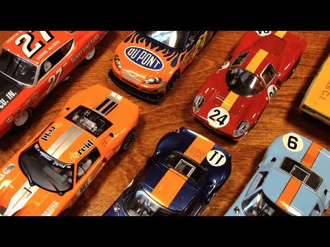 Slot Car Race Prep | ASMR
