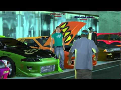 Gta San Andreas The Fast And The Furious.Part 1