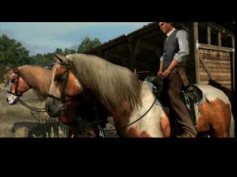 Red Dead Redemption historia parte 13,Reuniendo ganado en mi granja y domando caballos