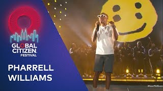 Pharrell Williams performs Happy | Global Citizen Festival NYC 2019