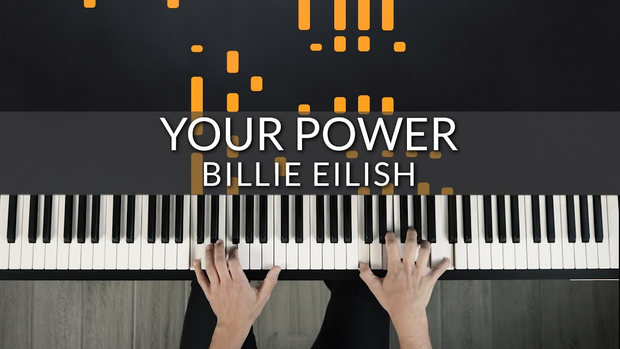 Billie Eilish - Your Power | Tutorial of my Piano Impro + Sheet Music