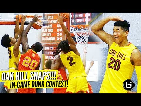 Cole Anthony Catches NASTY BODY!! Oak Hill ENDING LIVES OUT HERE! SCORE 100+ in 3 QUARTERS!!!