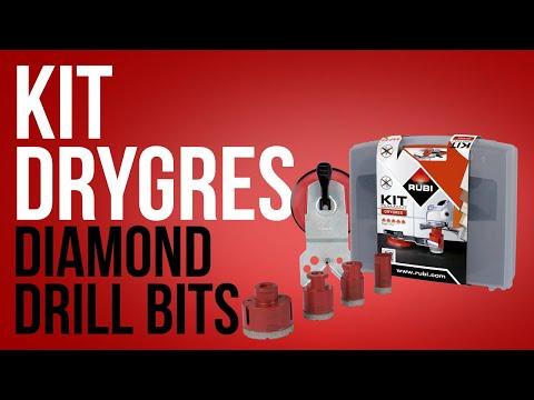 Kit Brocas Diamante DRYGRES RUBI
