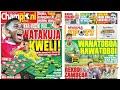 MICHEZO Magazetini Leo Ijumaa 2/7/2021 Simba,Yanga zazuiwa kucheza Caf,Mo Amwaga Mamilion kwa Luis