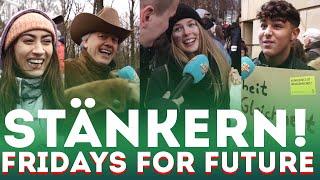 STÄNKERN bei Fridays for Future !!!