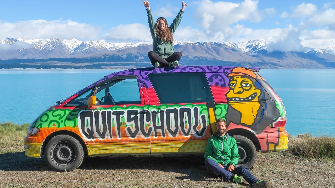 e1824bf2ba Living in a van for a month! wild NEW ZEALAND - YouTube