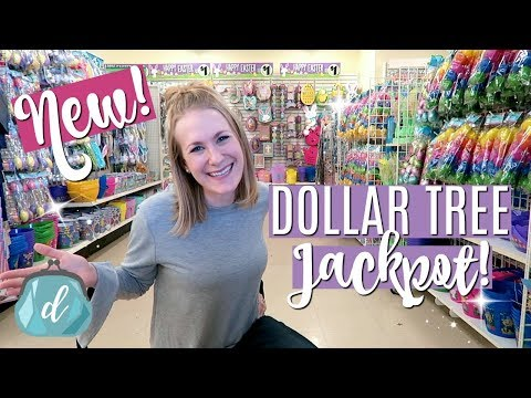 DOLLAR TREE SHOP WITH ME 💜 Spring Jackpot!!! 💜 Organization, Easter Decor & New Finds 2018!