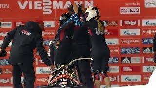 FIBT | Women's Bobsleigh World Cup 2013/2014 - Igls Heat 1
