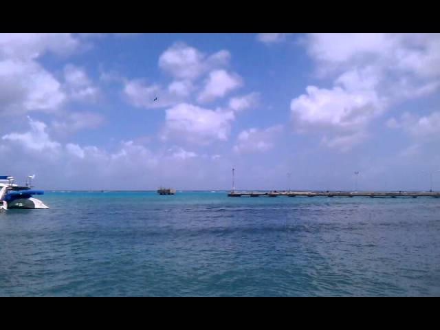 Before the Sub in Oranjestad Harbor Travel Video