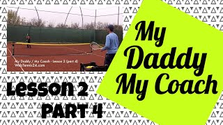 Kids Tennis Lesson (live) - part 4 - how to teach tennis to little kids (age 4 - 10)